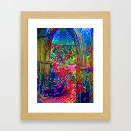 Magic Portal Framed Art Print