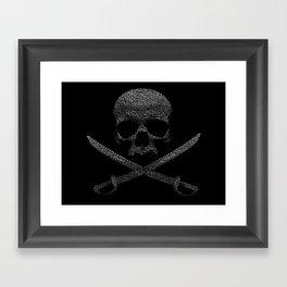 Type Pirate Framed Art Print