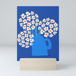 Abstraction_FLORAL_Blossom_001 Mini Art Print