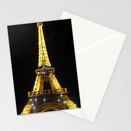 Shinning Eiffel Tower Stationery Cards