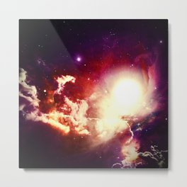 Lumpy Space Metal Print