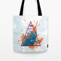 island Tote Bags featuring Island by Last Call
