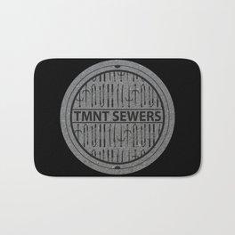 TMNT SEWERS Bath Mat