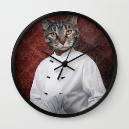 Chef Lola Wall Clock