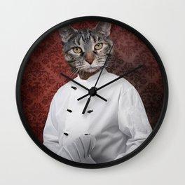 Chef Lola Wall Clock