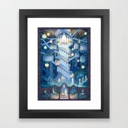 Elven City Framed Art Print