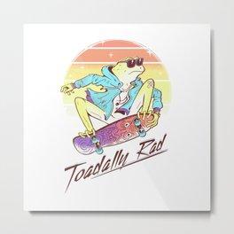 Score Toadally Rad Metal Print