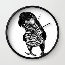 Sketchy Bird Wall Clock