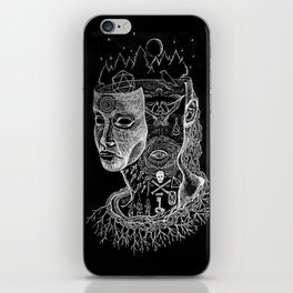 Secrets of Your Skull iPhone Skin