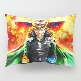 Loki - Ragnarok IV Eternal Flame Pillow Sham