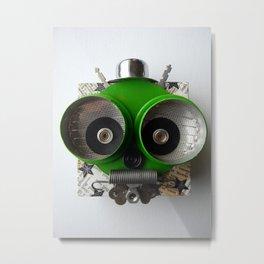 Little Green Martian from Pasadena Metal Print