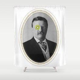 Teddy Kiwi Shower Curtain