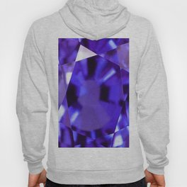 RUSSIAN PURPLE AMETHYST FEBRUARY BABY'S BIRTHSTONE ART Hoody
