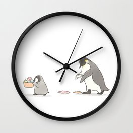 Chores (white background) Wall Clock