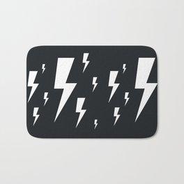 Lightning bolts Bath Mat