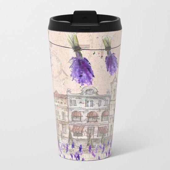 Provence France - my love  - Lavender and Summer on #Society6 Metal Travel Mug