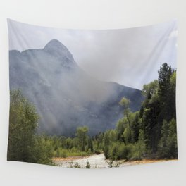 Smoke and Rust Wall Tapestry