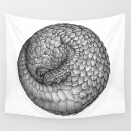 The Infinite Pangolin Wall Tapestry