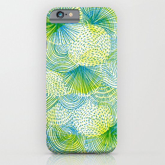 Space lime iPhone & iPod Case