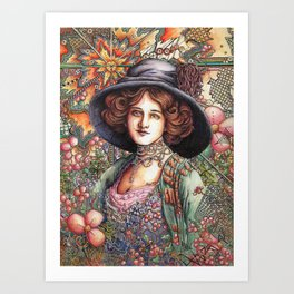 Lily Elsie Art Print