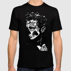 James Dean. Rebel: Zombie. 2X-LARGE Black Mens Fitted Tee
