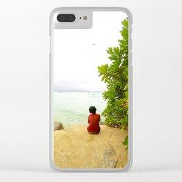 Boracay Wonderment Clear iPhone Case