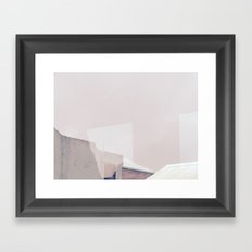 Rooftop Reflections Framed Art Print