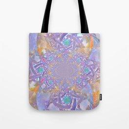 Mandala- Purple Fantasy Tote Bag