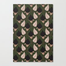 Black Rose Print  Canvas Print