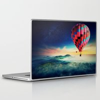 hot air balloons Laptop & iPad Skins featuring Hot Air Balloons by EclipseLio