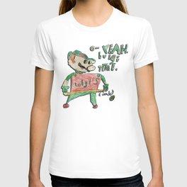 Super Mario Bros: O - Yeah. Luigi Time. T-shirt