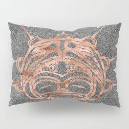 Copper Frog Smoke Pillow Sham