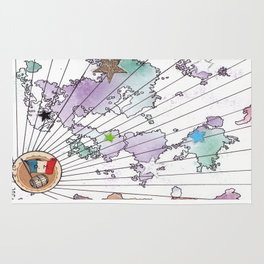 Multiverse Map #2 Rug