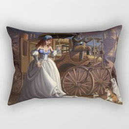 Steampunk Cinderella Rectangular Pillow