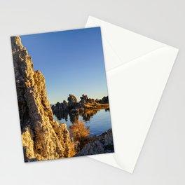 Sunrise at Mono lake Stationery Cards
