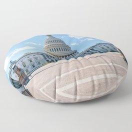 A Quiet Day Floor Pillow