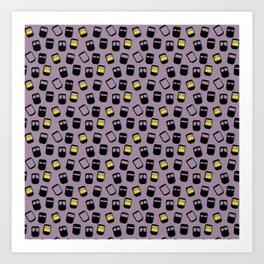 Niqabis pattern Art Print