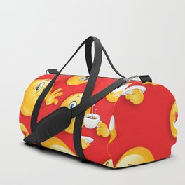 Emoji Pattern 4 Duffle Bag
