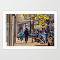 just a day, in life Art Print