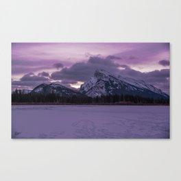 Vermillion Sunrise Canvas Print