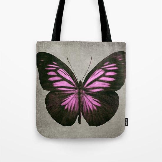 Papillon (Pink) Tote Bag