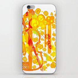 Colour_Me_Pop iPhone Skin