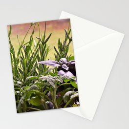 Herbal Garden Delight Stationery Cards