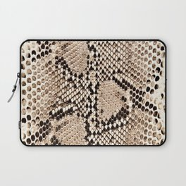 Snake skin art print Laptop Sleeve