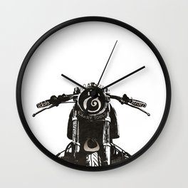 Ride Hard Wall Clock