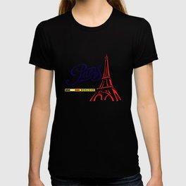 Eiffel Tower, Paris, France. T-shirt