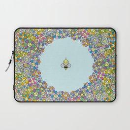 FLOWER POWER BEE Laptop Sleeve