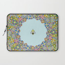 FLOWER POWER BEE Laptop Sleeve