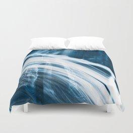 Blue Banshee Falls Duvet Cover