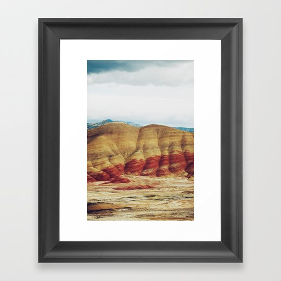 Painted Hills Framed Art Print